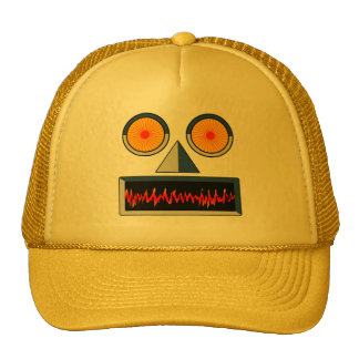 Robot Face Hat