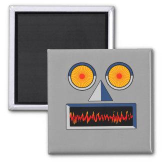 Robot Face Magnet