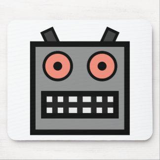 ROBOT FACE MOUSE PAD