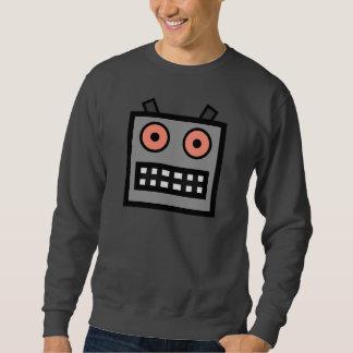 ROBOT FACE SWEATSHIRT