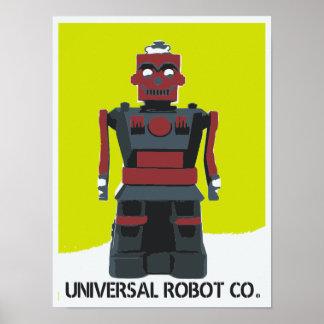 Robot factory poster
