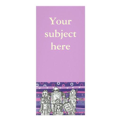 Robot Family 17 Rack Cards