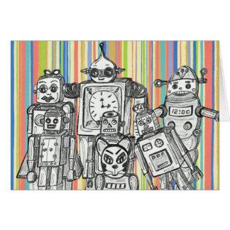 Robot Family 6 gift card
