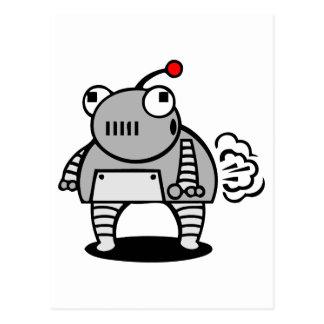 Robot Fart Postcard