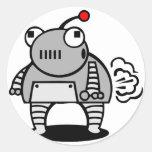 Robot Fart Sticker
