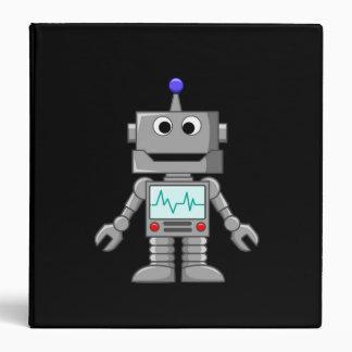 "Robot feliz carpeta 1 1/2"""