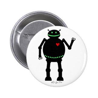 Robot feliz gordo pin