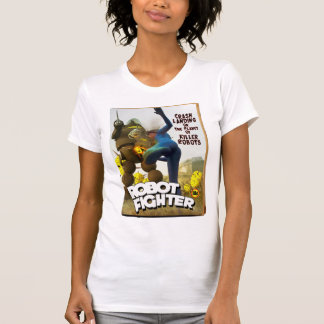 Robot Fighter Fake Pulp Cover 2 Shirt
