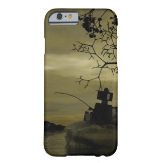 Robot Fishing Barely There iPhone 6 Case