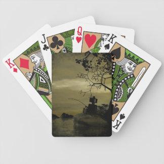 Robot Fishing Bicycle Playing Cards