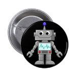 Robot Freak Pin Redondo De 2 Pulgadas