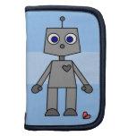 Robot/frente lindo y visión trasera planificadores