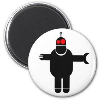 Robot! Fridge Magnet