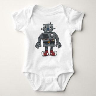 Robot front baby bodysuit