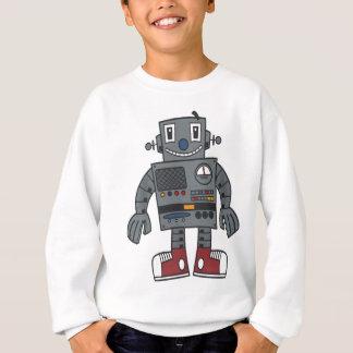 Robot front sweatshirt