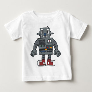 Robot front t shirts