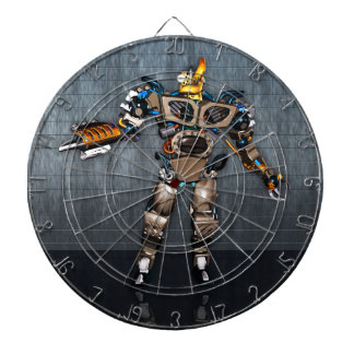 Robot Fun Metal Cage Dartboard