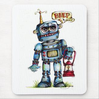 Robot Fun Mouse Pad