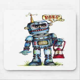 Robot Fun Mousepad
