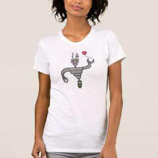 Robot fun time tee shirt