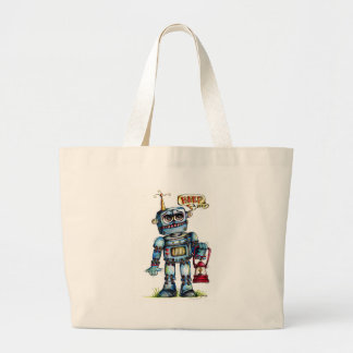 Robot Fun Tote Bags