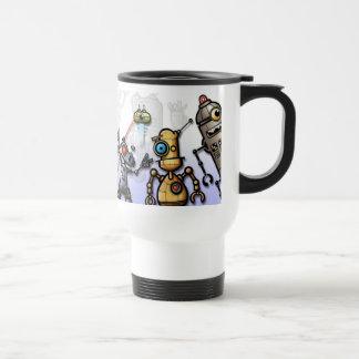 Robot Gang Travel Mug