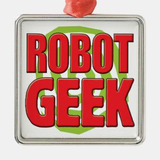Robot Geek Christmas Tree Ornaments