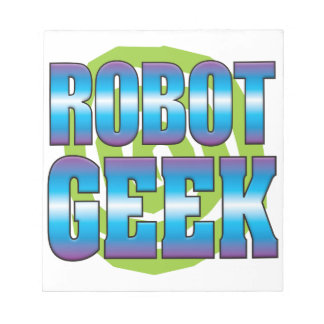 Robot Geek v3 Note Pad