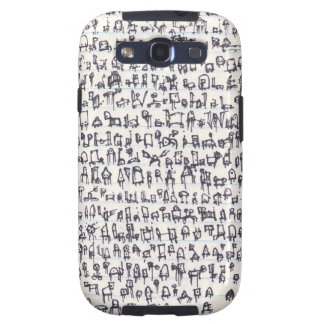 Robot Genome 001 Samsung Galaxy S3 Cover