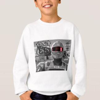 Robot Giganticus B&W Route 66 Sweatshirt