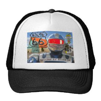 Robot Giganticus Route 66 Trucker Hat