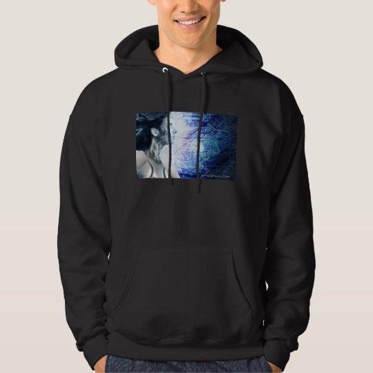 Robot Girl 1 Hooded Sweatshirt