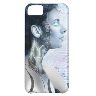 Robot Girl 1 iPhone 5 Case