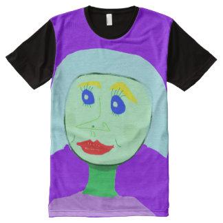 Robot Girl All-Over Print Shirt