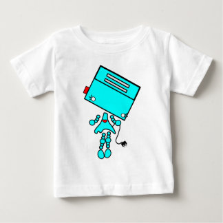 robot girl baby T-Shirt