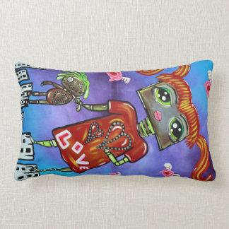 Robot Girl MoJo Pillows