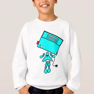 robot girl sweatshirt