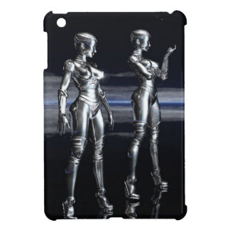 robot girls iPad mini covers