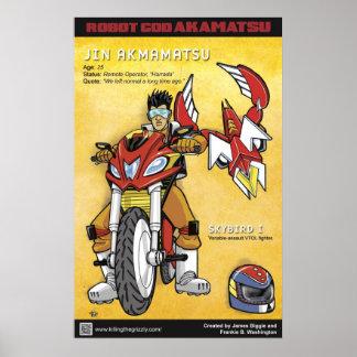 Robot God Akamatsu Character Poster 1