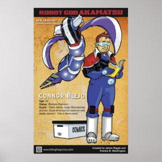 Robot God Akamatsu Character Poster 2