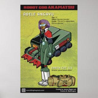 Robot God Akamatsu Character Poster 3