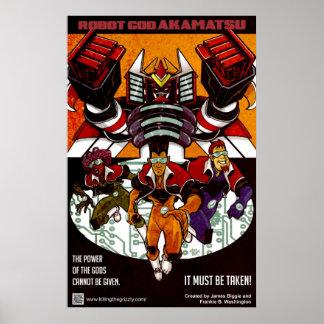 Robot God Akamatsu Poster 1