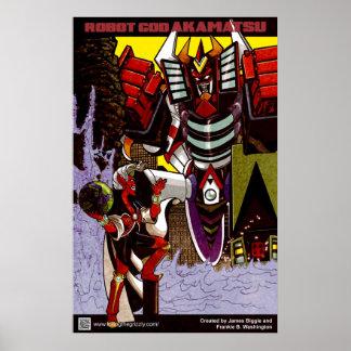 Robot God Akamatsu Poster 2