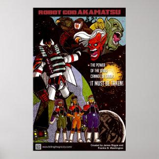 Robot God Akamatsu Poster 3