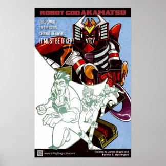 Robot God Akamatsu Poster 4