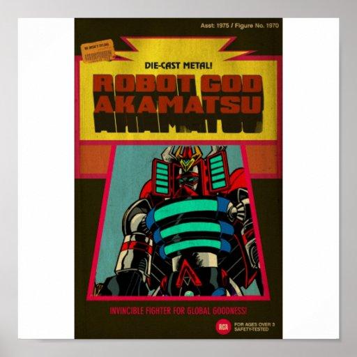 Robot God Akamatsu Poster 7