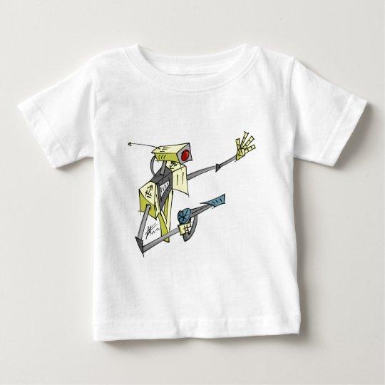 Robot Got A Gun Baby T-Shirt