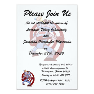robot guitar player brown.png personalized invitation