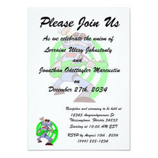 robot guitar player green.png personalized invitation