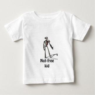 Robot guy - Feed no nuts Baby T-Shirt